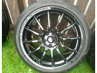 "Team Dynamics pro race 1.2 VXR alloys 18"" 5x110 SWAP"