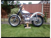 Triumph tiger cub trials bike