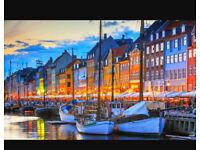 London to Copenhagen - £200!!
