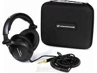 Sennheiser HD 380 Pro Collapsible High End Headphones – Black