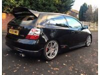 2004 04 REG HONDA CIVIC TYPE R EP3 MODIFIED TAX & TESTED HPI CLEAR FACE-LIFT A/C **BARGAIN**