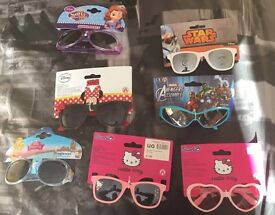 Joblot of character sunglasses (18 sets)