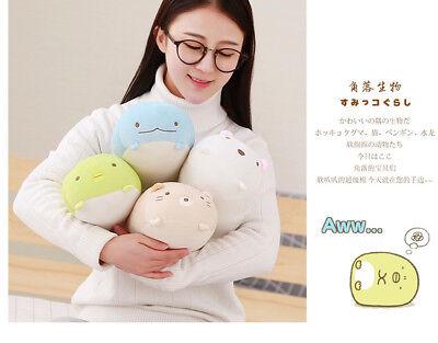 SAN-X Sumikko gurashi Polar Bear Kitty Dinosaur Plush Stuffed Figures 11'' 1pc