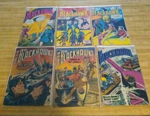 BLACKHAWK #49 THRU #256 1952 DC COMICS 16 BOOKS COMICS CRANDALL