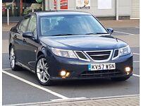 *New Shape* Saab 9-3 (93) 2t AUTO 175 BHP, Hpi Clear, FSH like Ford Mondeo Vauxhall Insignia