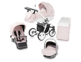 Babystyle Prestige 2 Travel System - Classic Chassis, Ballerina Pink