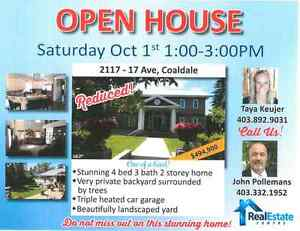 OPEN HOUSE- Here's your chance !!!