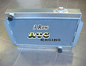 3 Rows Aluminum Radiator for holden Torana LJ LC LH LX V8 chevy motor universal