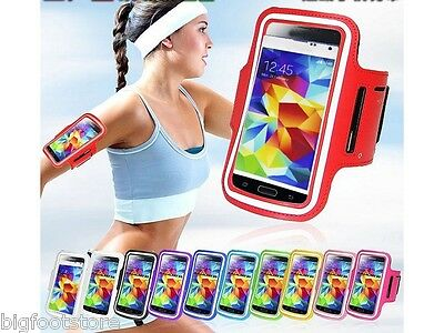 New GYM Samsung Galaxy Smartphone Arm Bend Case Cover Holder For S3 S4 S5 i9600