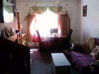 3 bed ground floor flat