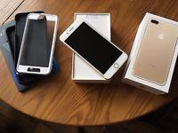 Apple iPhone 7 Plus 128gb Gold Unlocked (Brand New Condition) Bundle