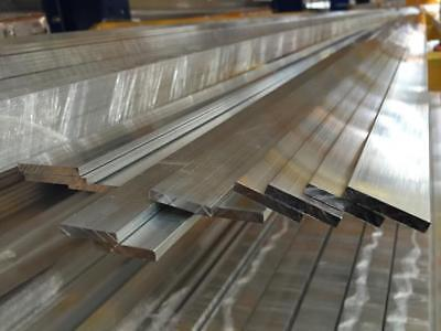 Alloy 304 Stainless Steel Flat Bar - 18 X 2 12 X 36