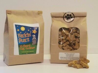 Barkin'Starz All Natural Handcrafted Dog Cookies Beef Flavor All Natural Dog Cookie