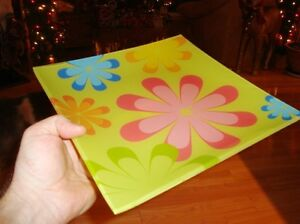 """Decorative Flower Serving Plate 10"""" x 11""""  -Brand New never Used Kitchener / Waterloo Kitchener Area image 3"""