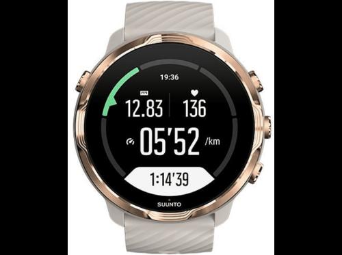 Reloj deportivo - Suunto 7, Rose Gold, 48h, Más de 70 modos deporte