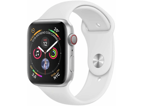 Apple Watch Series 4 GPS + Cellular, 40mm Caja de Aluminio Plata,