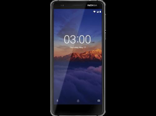 "Móvil - Nokia 3.1, Negro, 16 GB, 2 GB RAM, 5.2"", Mediatek MT6750"