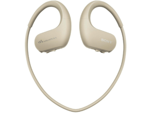 MP3 acuático deportivo - NWWS413SC.CEW 4GB, Autonomía 12 horas, Marfil