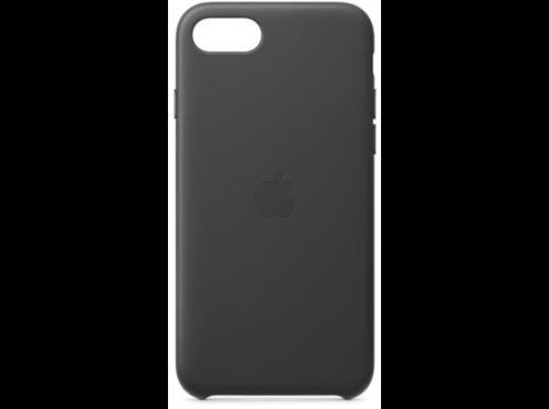 Funda - Apple funda Leather Case, MXYN2ZM/A, para el iPhone SE Piel, Negro