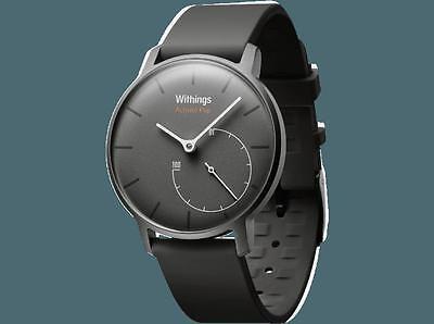 Withings Activité Pop - Smartwatch mit Aktivitäts- und Schlaftracker, shark grau