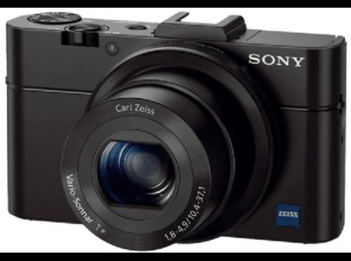 Cámara - Sony DSC-RX100 II, 20 Mp, Full HD, Negro