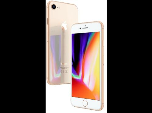 "Apple iPhone 8, Dorado, 64 GB, 4G LTE, 4.7"" Retina HD"