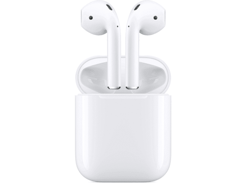 Auriculares inalámbricos Apple AirPods 2, Bluetooth, Lightning, Siri, Blanco