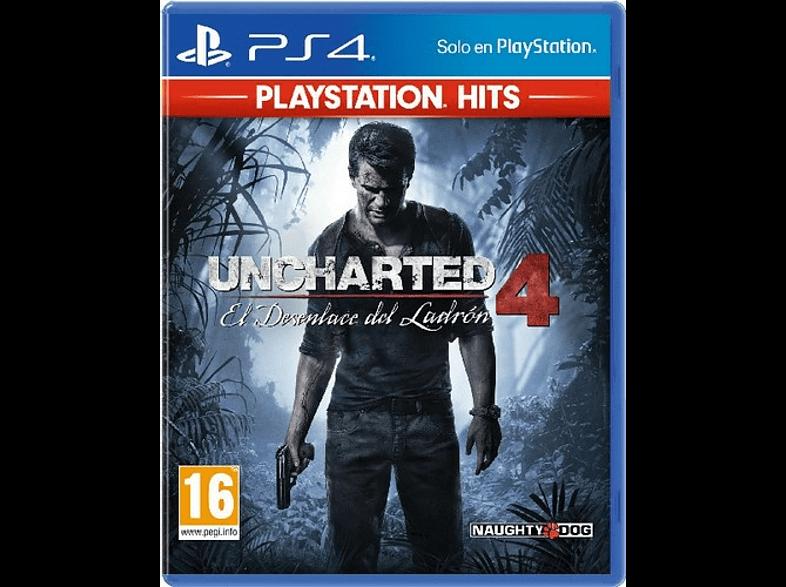Uncharted 4: El desenlace del Ladrón - Playstation 4 - Juego Físico - Nuevo