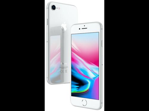 "Apple iPhone 8, Plata, 64 GB, 4G LTE, 4.7"" Retina HD"