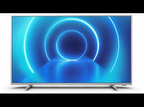 TV LED 58 Philips 58PUS7555/12, 4K, Smart TV, Motor P5, 3 HDMI, 2 USB, Plata