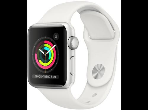 Apple Watch Series 3 GPS, 38 mm, Blanco