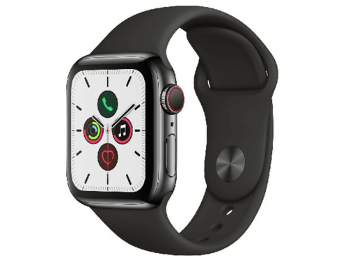 Apple Watch Series 5, Chip W3, 40 mm, GPS + Cellular