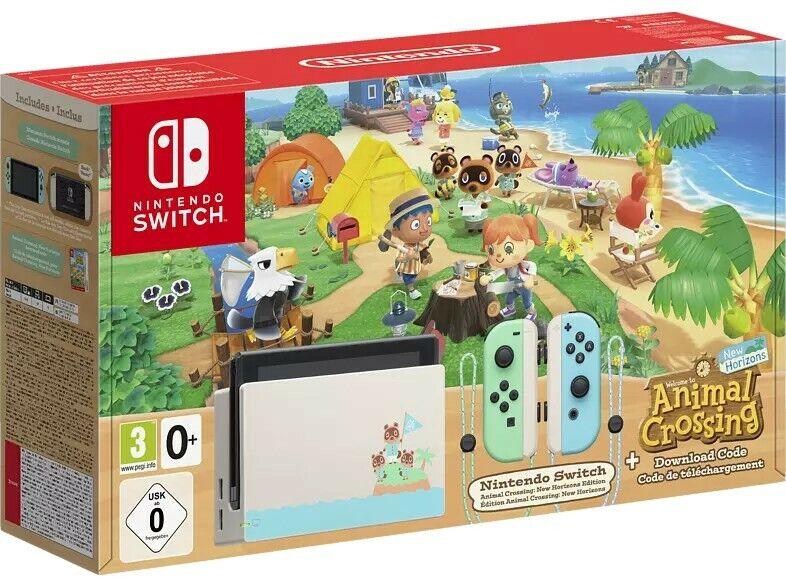 Nintendo Switch Spielkonsole Switch Animal Crossing (New Horizons Edition) OVP