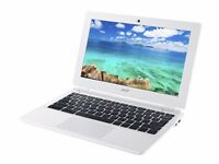 ACER CHROMEBOOK 11 / INTEL DUAL CORE 2.41 GHz / 2 GB RAM / 16 GB eMMC/ HDMI/ USB 3.0/ WEBCAM