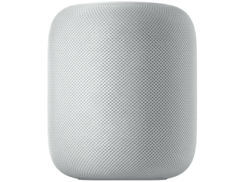 Altavoz inteligente - Apple HomePod, Chip A8, Siri, Bluetooth, Wi-Fi, Blanco