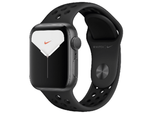 Apple Watch Nike Series 5, Chip W3, 40 mm, GPS, Caja aluminio plata,