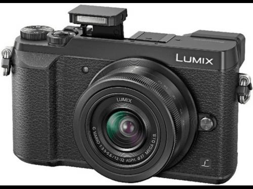 Cám EVIL-Pana Lumix GX80,16Mp,4K,I.S.dual de 5 ejes,WiFi+Lumix 12-32mm f/3.5-5.6