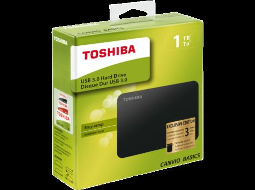 Toshiba HDTB410MK3AABASICS EXCLUSIVE 1TB Festplatte extern