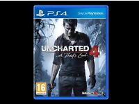 PS4 Games Unchartered 4 and Lego Star Wars £20 each Brand New!!!!