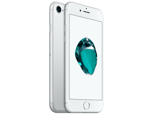 "Apple iPhone 7, Plata, 32 GB, 2 GB RAM, 4.7"" Retina HD, Chip A10 Fusion, iOS"