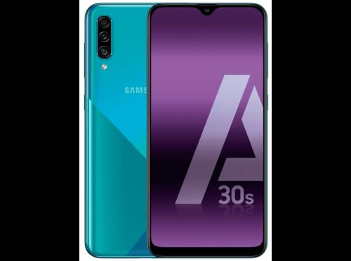 "Samsung Galaxy A30S, Verde, 128 GB, 4 GB, 6.4"" HD+, Octa Core, 4000 mAh"