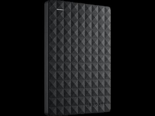 Disco duro 1 TB - Seagate STEF1000401 Expansion Portable, Externo, Negro
