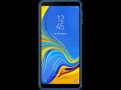 "Móvil - Samsung Galaxy A7, Azul, 64 GB, 4 GB RAM, 6"", Octa-Core, Android"