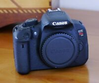 Canon rebel t5i - mint condition - body only