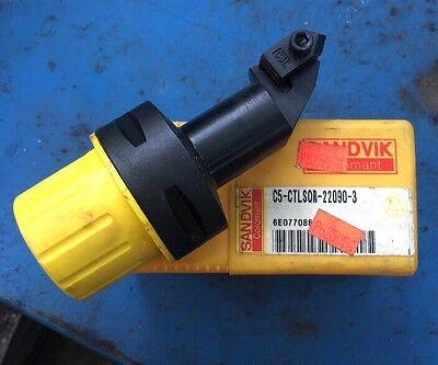 Sandvik Capto C5 Ctlsor 22090 3 Grooving Parting Top-lok 3l Tool Holder Cnc Lath