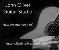 Guitar lessons - Classical + beginner all styles