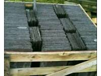 1000 no 20x12 Reclaimed Bangor Blue Slates