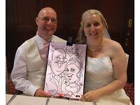 Walkabout Wedding Caricaturist