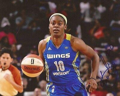 87408ae6fb4 Kaela Davis signed Dallas Wings 8x10 photo autographed South Carolina 3
