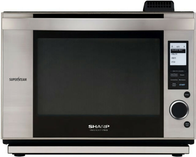 60 Off New Sharp Microwave Convection Super Steam Ax1200s 4 Ovens In 1